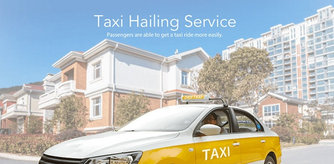 Chinese ride sharing service Didi Chuxing
