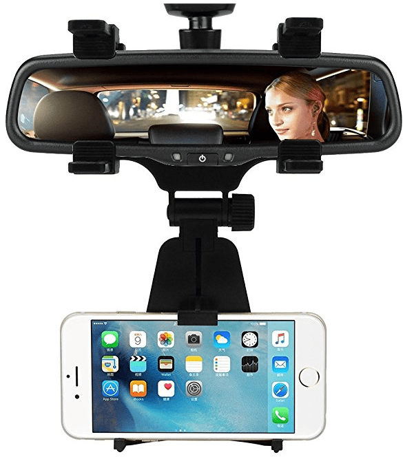 -INCART-Car-Mount-_-Car-Rearview-Mirror-Mount-Truck-Auto-Bracket-Hold