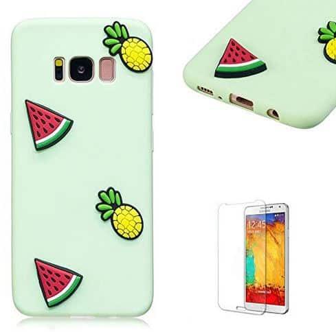 Samsung Galaxy S8 Plus Case.Funyye Cute 3D Candy Colorful Series Design Soft