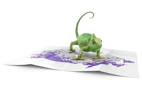 Chameleon Traveller Map