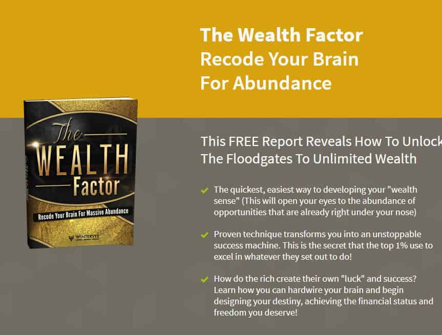 The Wealthcode Factor