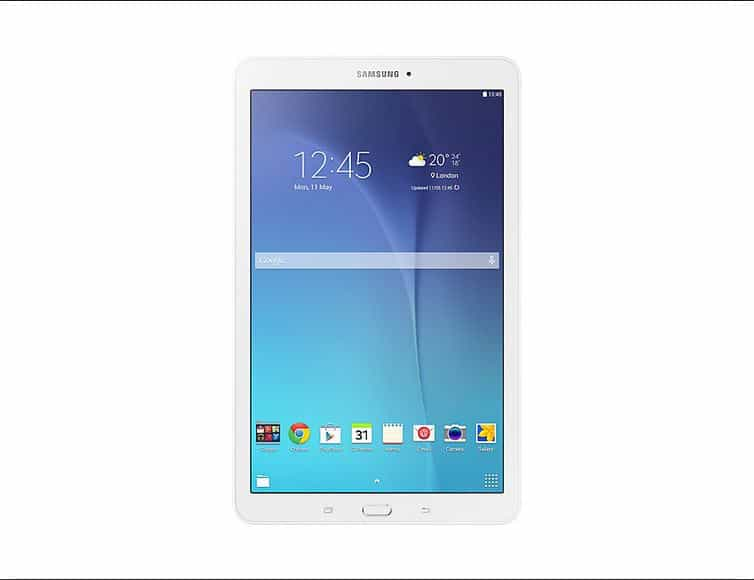 Tablet: Samsung Tab E $0 upfront with 1GB of shareable data